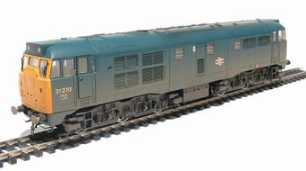 R2413 Class 31 31270 in BR blue (weathered)
