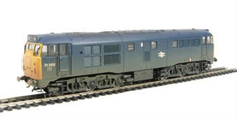 R2413B Class 31 31268 in BR blue (weathered)