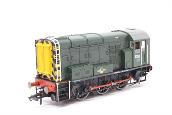 R2417-PO13 Class 08 Shunter 3256 in BR green livery - Pre-owned -  imperfect box