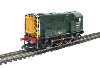 R2417 Class 08 Shunter 3256 in BR green livery