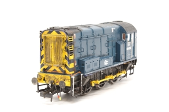 R2418-PO03 Class 08 Shunter 08402 in BR blue livery - Pre-owned - weathered - imperfect box