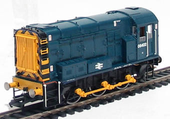 R2418 Class 08 Shunter 08402 in BR blue livery