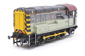 R2419-PO07 Class 08 Shunter 08954 in Transrail Grey  - Pre-owned - renumbered and reliveried - both buffer beams detailed, couplings replaced with srewling couplings