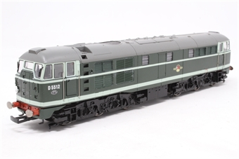 R2420-PO07 Class 31 D5512 in BR green - Pre-owned - sold as seen - running issues and bodyshell damage due to chassis expansion