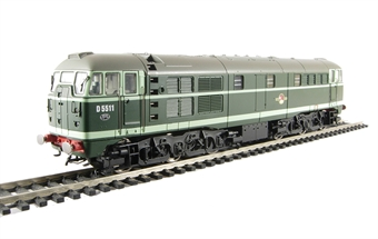 R2420A Class 31 D5511 in BR green