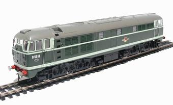 R2420 Class 31 D5512 in BR green