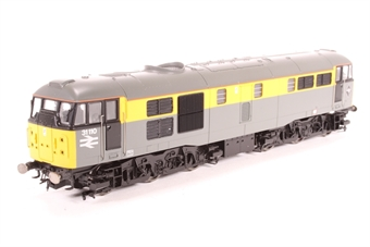R2421-PO02 Class 31 31110 in Civil Engineers' Dutch Livery - Pre-owned - DCC Sound fitted- running issues and body damage due to chassis expansion