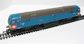 R2422 Class 47 47853/D1733 in Riviera Trains XP64 blue