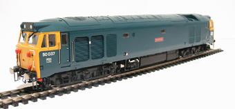 R2428 Class 50 50037 'Illustrious' in early BR blue