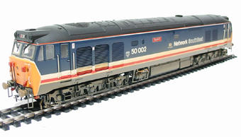 R2429 Class 50 50002 'Superb' in Revised Network South East Livery (weathered)