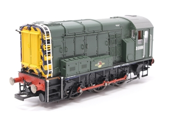 R2438-PO07 Class 08 Shunter D3986 in BR green livery - Pre-owned - missing coupling hook- imperfect box