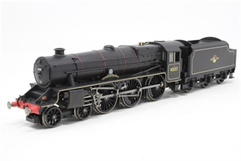 "R2449-PO09 Class 5MT Black Five 4-6-0 45157 ""Glasgow Highlander"" in BR Black with late crest - Pre-owned -  broken cab door"