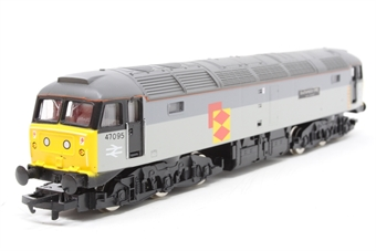 R245-PO05 Class 47 47231 'The Silcock Express' in Railfreight Distribution Livery - Pre-owned - renumbered - imperfect box