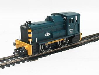 R2470 Class 06 06003 in BR blue