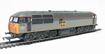 R2477B Class 56 56125 in Railfreight Coal livery (weathered)