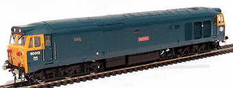 R2486 Class 50 50013 'Agincourt' in early BR blue livery