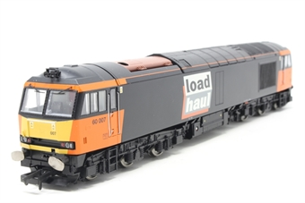 R2489-PO06 Class 60 60007 in Loadhaul livery - Pre-owned - Like new