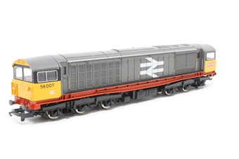 R250-PO19 Class 58 58001 in Railfreight Red Stripe Livery - Pre-owned - imperfect box
