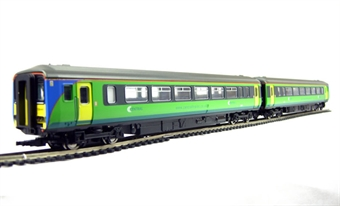R2511 Class 156 2 car DMU in Central Trains livery