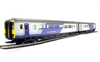 R2513 Class 156 2 car DMU in Northern Rail livery