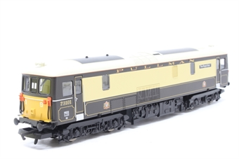 "R2516-PO06 Class 73 73101 ""The Royal Alex"" in Pullman livery - Pre-owned - DCC fitted - imperfect box"