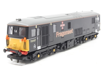 "R2518-PO02 Class 73 73107 ""Spitfire"" in Fragonset livery - Pre-owned - Like new, imperfect box"