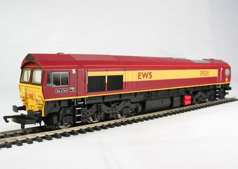"R2520 Class 59 59201 ""Vale of York"" in EWS livery"