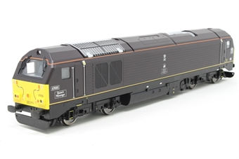 """R2523-PO09 Class 67 67005 """"Queens Messenger"""" in Royal Train livery - Pre-owned - Like new - Imperfect box"""