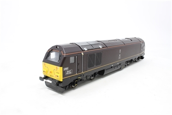 "R2523-PO10 Class 67 67005 ""Queens Messenger"" in Royal Train livery - Pre-owned -  imperfect box"