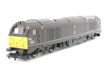 """R2523-PO13 Class 67 67005 """"Queens Messenger"""" in Royal Train livery - Pre-owned -  imperfect box"""