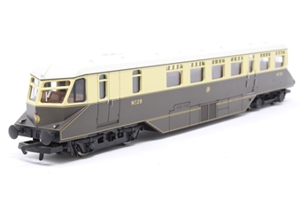 R2524-PO13 GWR diesel railcar 29 in GWR chocolate & cream livery - Pre-owned - Like new