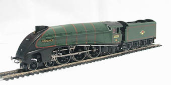 """R2535 Class A4 4-6-2 60029 """"Woodcock"""" in BR Green with late crest"""