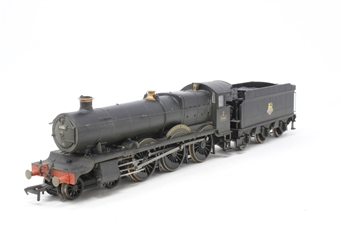 """R2548-PO04 Grange Class 4-6-0 6816 """"Frankton Grange"""" in BR Black with early emblem (weathered) - Pre-owned - DCC fitted"""