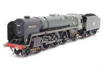 "R2564-PO09 Class 7MT Britannia 4-6-2 70052 ""Firth of Tay"" in BR Green - Pre-owned - DCC fitted, non runner"