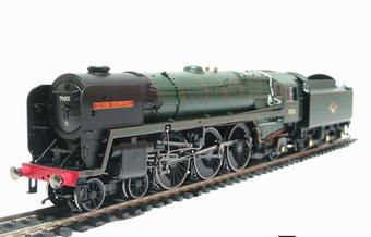 "R2565 Class 7MT Britannia 4-6-2 ""Oliver Cromwell"" 70013 in BR Green - NRM special edition"