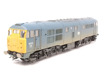 R2571-PO05 Class 31 31111 in BR blue (weathered) - Pre-owned - Inconsistent Runner