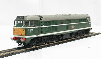 R2572 Class 31 D5640 in BR green