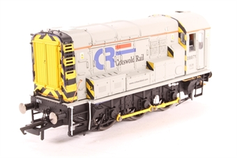 R2594-PO02 Class 08 Shunter 08871 in Cotswold Rail livery - Pre-owned - DCC Sound-fitted, imperfect box