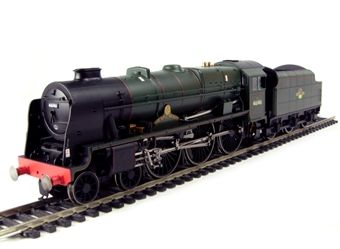 """R2630 Royal Scot Class 4-6-0 46146 """"The Rifle Brigade"""" in BR Green with late crest"""