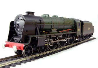 """R2633 Rebuilt Patriot Class 4-6-0 45545 """"Planet"""" in BR Green with late crest"""