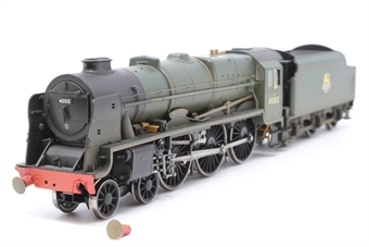 """R2634-PO04 Rebuilt Patriot Class 4-6-0 45512 """"Bunsen"""" in BR Green with early emblem (weathered) - Pre-owned - damaged fromt buffer beam, with one buffer broken off (included) - missing front coupling - imperfect box"""