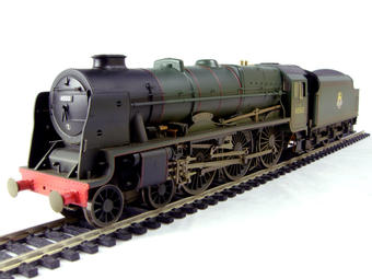 """R2634 Rebuilt Patriot Class 4-6-0 45512 """"Bunsen"""" in BR Green with early emblem (weathered)"""