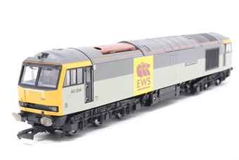 R2639-PO08 Class 60 60014 'Alexander Fleming' in EWS/Trainload livery - Pre-owned - imperfect box