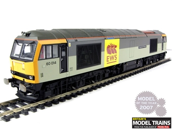 R2639 Class 60 60014 'Alexander Fleming' in EWS/Trainload livery