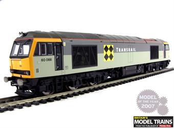 R2640 Class 60 60066 'John Logie Baird' in Trainload Coal livery with Transrail branding
