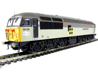 R2647 Class 56 56128 'West Burton Power Station' in Railfreight Coal sub-sector livery. DCC Ready