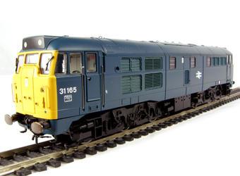 R2649 Class 31 31165 in BR Blue