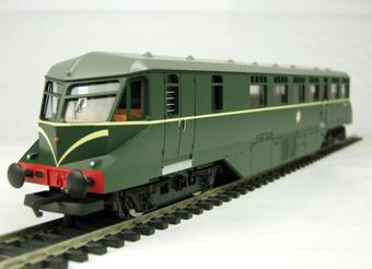 """R2653 GWR type diesel railcar """"W 22 W"""" in BR green £55"""