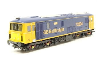 R2654-PO04 Class 73 73204 in GBRF livery - Pre-owned - damaged coupling - imperfect box
