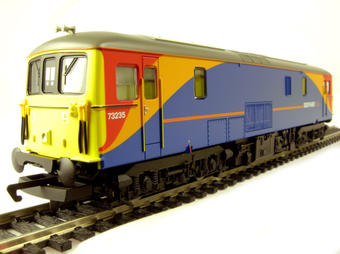 R2655 Class 73 73235 in SW Trains livery